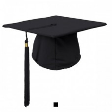 Black Hat with Tassel and 2020 Year Charm