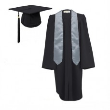 5 x Children's Graduation Gown and Stole Sets in Matt Finish (7-13yrs)