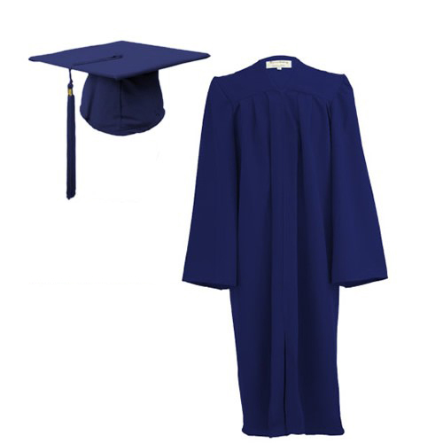 Children\'s Graduation Gown Sets in Matt Finish (7-13yrs) - HIRE