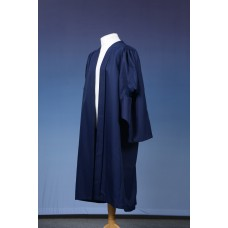 Master's Style Graduation Gown UK - Navy
