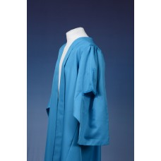 Master's Graduation Gown - Open University Style - Pale Blue
