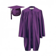 5 x Children's Graduation Gown Sets in Satin Finish (7-13yrs)