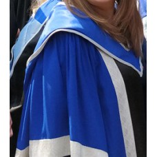 QMUL Gown, Hood and Bonnet with Cord for Doctorate/PhD Level