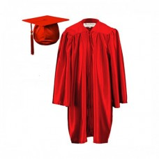 Children's Graduation Gown Set in Satin Finish (7-13yrs)