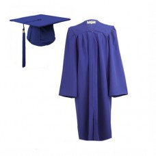 Graduation Gown Set in Matt Finish