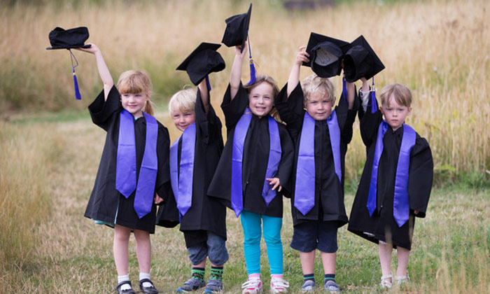 Childrens Graduation