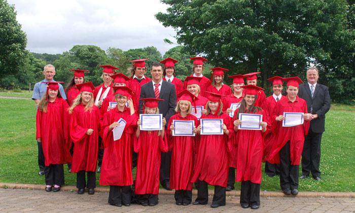 Young Student Graduations