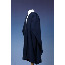 Bachelor Gown UK - Fully Fluted - Navy