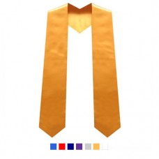 Children's Graduation Stole - Plain, Size 1