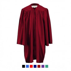 Children's Graduation Gown Only in Satin Finish (6-13yrs)
