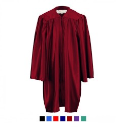 Children's Graduation Gown Only in Satin Finish (7-13yrs)