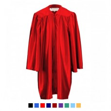 Children's Graduation Gown Only in Satin Finish (3-5yrs)