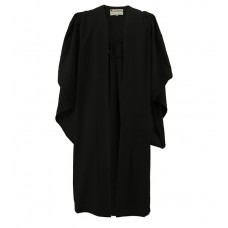 Bachelor Graduation Gown UK - Mid Range, Black