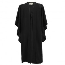 Bachelor Graduation Gown UK - Classic Range, Black