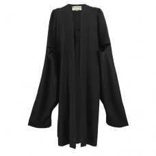 Master's Graduation Gown UK - Chalkface Range, Black