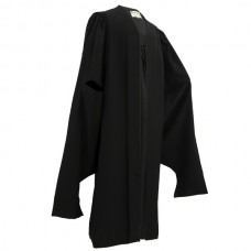 Master's Graduation Gown UK - Classic Range, Black