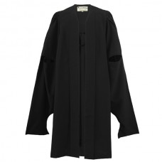 Master's Graduation Gown UK - Mid Range, Black