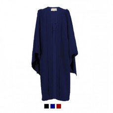 Children's Graduation Gown Only UKJ Style in Matt Finish (6-13yrs)
