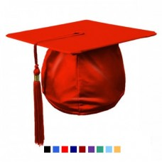 Mortarboard in Satin Finish with Tassel