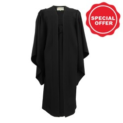 Bachelor Graduation Gown UK - Chalkface Range, Black - NOW £39.00