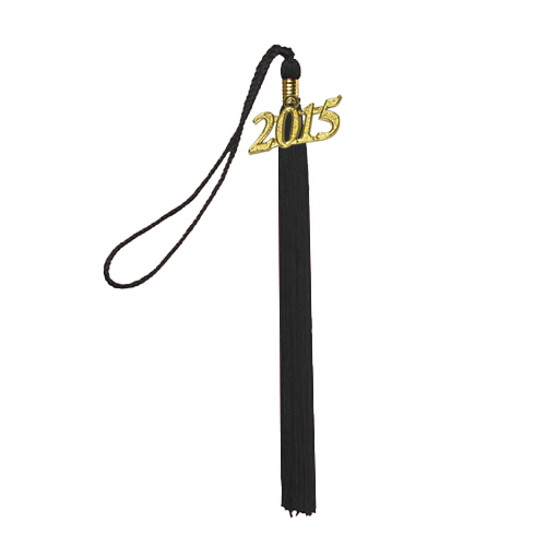 graduation tassel with 2016 year tag for mortar board